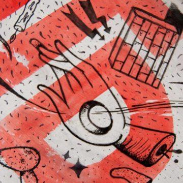 NLMTD Ilustración para tabla de skate.